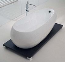 baignoire ilot en acrylique