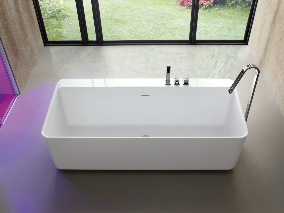 baignoire ilot rectangle