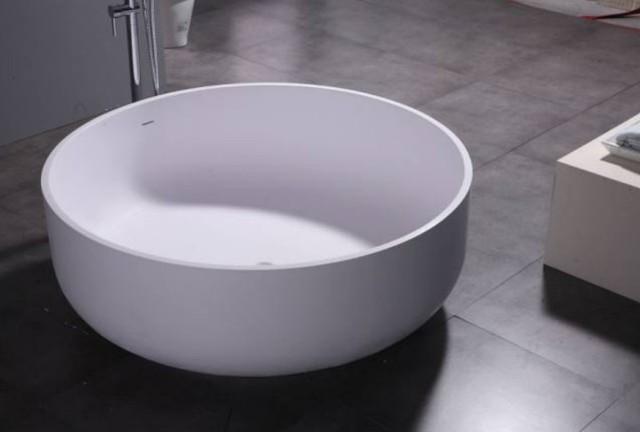 Peut on mettre une baignoire ronde dans toutes les salles de bain baignoi - Baignoire ronde ilot ...